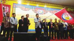 Robert Iwan Boyok Pimpin Persaudaraan Marga Zhang Riau
