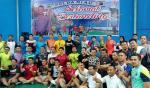 Pembukaan Turnamen Kapolresta Cup III Dihadiri Mantan Pebulutangkis Dunia