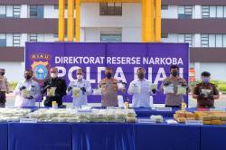 Polda Riau Amankan 87 Kg Sabu dari Jaringan Internasional