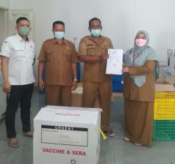 Kembali, Inhu Terima 25.000 Dosis Vaksin