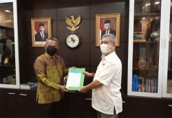 DPRD-PWI Pokja Pekanbaru Bahas Kantor hingga Sampah