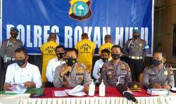 Polisi Tetapkan 3 Tersangka Karhutla Bukit Suligi Tandun