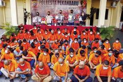 Berantas Premanisme, 79 Orang Diamankan