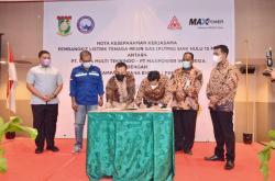 PT Bumi Kampar Sarana Energi MoU PLTMG Siak Hulu