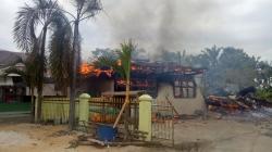 Gedung MDA dan Sekretariat LPTQ di Bengkalis Terbakar