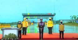 Sah, Presiden Jokowi Resmikan Jalan Tol Pekanbaru-Dumai