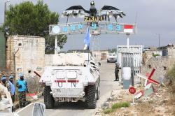 Satgas Yon Mekanis TNI Konga XXIII-N/UNIFIL Latihan BMR Atasi Pertikaian di Israel-Lebanon