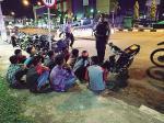 Tak Jera, Pembalap Liar Akhirnya Ditilang