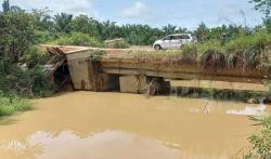 2021, Jembatan Bukit Juragan di Kota Lama Diperbaiki