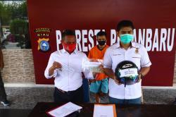 Pelaku Jambret Maut di Jalan Pattimura Ditangkap