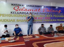 Berharap IKPA Beri Kontribusi bagi Kampung Halaman