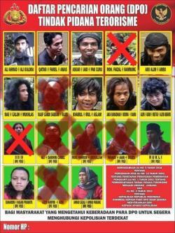 Nama 11 DPO Kelompok Ali Kalora Dirilis, Ini Daftarnya