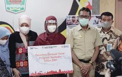 BNI Salurkan Bantuan PKH dan Sembako