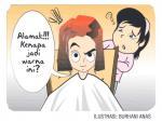 Salah Warna Rambut
