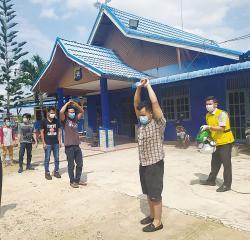 Belasan TKI Ilegal Asal Malaysia Diamankan