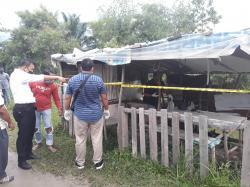 Mayat Pria Ditemukan di Gubuk Pinggir Parit di Rumbai