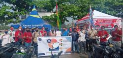 Tim Relawan Satgas Covid-19 Edukasi ke Pasar Arengka