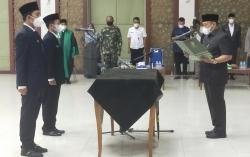 Dua Kepala Dinas Dilantik Bupati, Yuricho dan Zulfahmi Definitif
