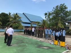 Tim Relawan Mahasiswa Universitas Riau Siap Menuju New Normal