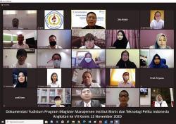 IBT Pelita Indonesia Gelar Yudisium Magister Manajemen