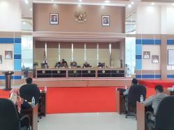 Pansus Ranperda Perubahan Nama dan Bentuk Badan Hukum PD BPR Rohil Diumumkan