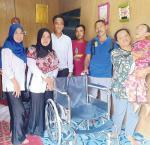 15 Penyandang Disabilitas Diberi Alat Bantu