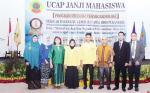 Mahasiswa PKL Stikes Awal Bros Ikuti Ucap Janji