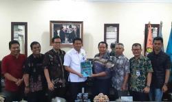 Rektor Unri Sambut Baik Kemah Pramuka Riau Hebat