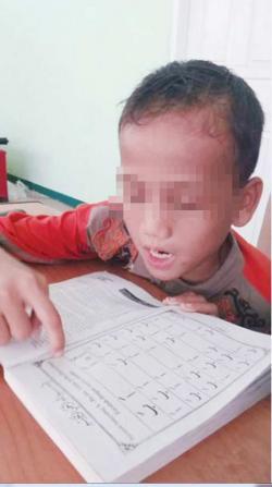 Kondisi Mulai Membaik, Riski Mencari Keluarganya di Duri