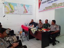 Polsek Bangko Gelar FGD di Kepenghuluan Rawan Karhutla