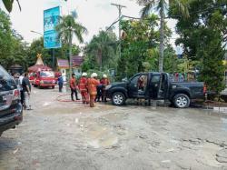 Ditinggal Urus Izin, Mobil Terbakar di Halaman MPP