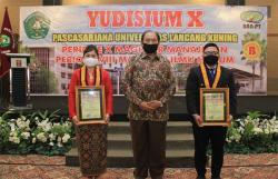 Pascsarjana Unilak Gelar Yudisium X, Lima Peserta Raih IPK Sempurna