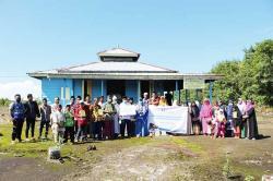 Human Initiative Riau Salurkan Alquran dan Sembako ke Pelosok Riau