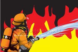 Rumah Penjual BBM Eceran di Inhil Terbakar