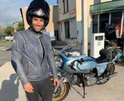 Johann Zarco, Touring dari Prancis ke Aragon Naik Motor Tua