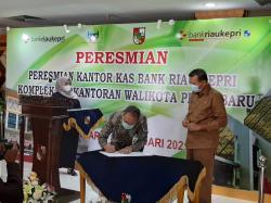 Perluas Layanan, PT BRK Buka Kantor Kas di Komplek Perkantoran Wali Kota Kota Pekanbaru