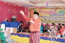 Masyarakat Desa Kepenuhan Jaya Nikmati Pembangunan