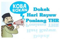 Dokek Hari Rayuw Poniang THR
