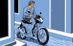 Ditinggal Salat Subuh, Sepeda Motor Digondol Maling