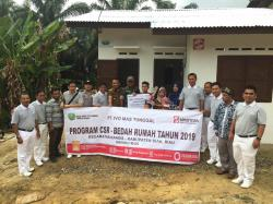 PT Ivo Mas Tunggal dan Tim Relawan Tzu  Chi Laksanakan Program Bedah Rumah