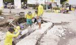 Normalisasi Drainase di Titik Rawan Banjir