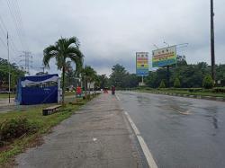 Titik Penyekatan di Simpang Bingung Sepi Lalu Lintas