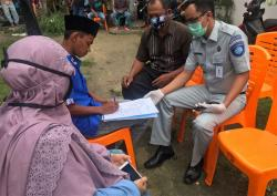 Jasa Raharja Riau Serahkan Santunan di Inhu