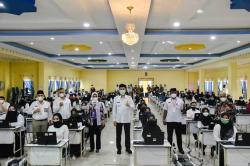 Wali Kota Dumai Pantau Pelaksanaan SKD CPNS