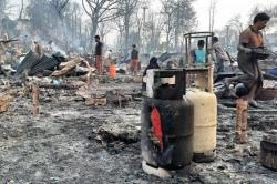 15 Tewas, Ratusan Terluka dan Hilang di Kamp Pengungsi Rohingya