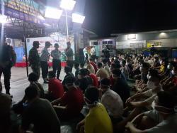 Lapas Kelas IIA Bagansiapiapi Gelar Razia Gabungan Gandeng TNI/Polri