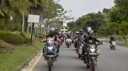 Komunitas Honda CB150R Berbagi di Tengah Pandemi