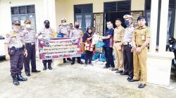 IKPTM dan Polsek Mandau Bagikan 300 Paket Sembako