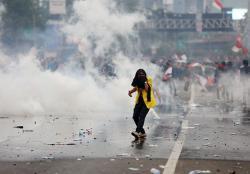 Amnesty Internasional Desak Polisi Bebaskan Mahasiswa dan Pelajar