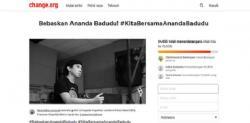 Puluhan Ribu Orang Tanda Tangani Petisi Dukung Ananda Badudu